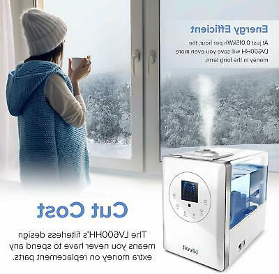 Warm and Ultrasonic Air Bedroom Vaporizer Large