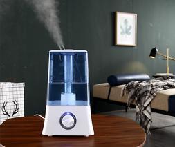 4.5L Large Capacity Ultrasonic Home Humidifier Air Mist Atom