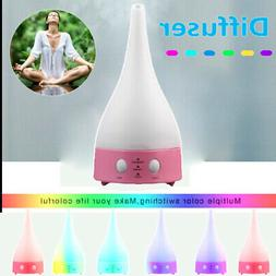 LED Essential Oil Diffuser Humidifier Aromatherapy Air Puref