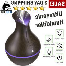 100ml Essential Oil Diffuser Humidifier Aromatherapy Ultraso