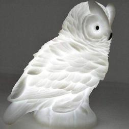 Led Exquisite Owl Night Lamps Lovely Nursery Bedroom Feeding
