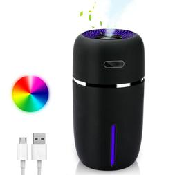 200ml Ultrasonic Humidifier Cool Mist Color Changing Auto Sh
