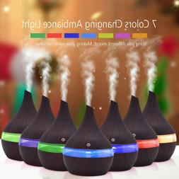LED Ultrasonic Aroma Essential Diffuser Air Humidifier Purif