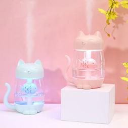 LED Ultrasonic Aroma Humidifier Air Aromatherapy Essential O