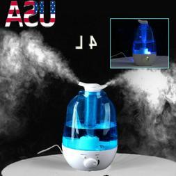 LED Ultrasonic Humidifier Potable Air Atomizer Humidifier Di