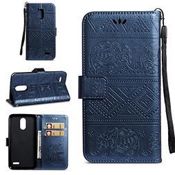 LG Stylo 3 Case,LG Stylus 3 Case,DAMONDY Elephant Embossed F