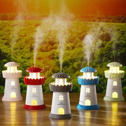 Lighthouse Mini USB Ultrasonic Humidifier for Home Office Ca