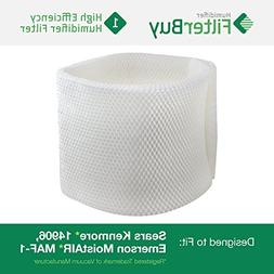 MAF-1 Emerson Moistair Humidifier Wick Filter. Fits humidifi