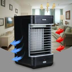 Mini Air Conditioner Cooler Humidifier Desktop Cooling Fan P