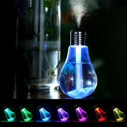 Colorful Light Air Humidifier Air Ultrasonic USB 400ML Essen