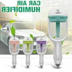 Mini Car Air Humidifier Essential Oil Diffuser Ultrasonic Ar