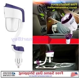Mini Car Humidifier Air Freshener Essential oil Diffuser wit