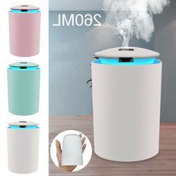 Mini Car USB LED Air Humidifier Diffuser Essential Oil Aroma