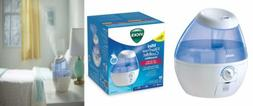 Vicks Mini Filter Free Cool Mist Humidifier Small for Bedroo