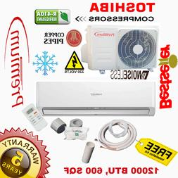 12000 BTU Air Conditioner Mini Split 16.9 SEER AC Ductless O