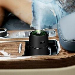 Mini USB Air Humidifier Aroma Diffuser Car Essential Oil Air