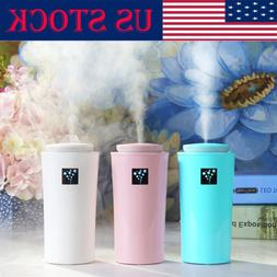 KBAYBO Mini USB Diffuser Car Ultrasonic  Mist Humidifier Air