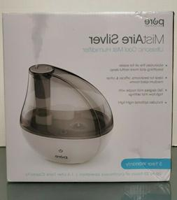 Pure Enrichment MistAire Silver Ultrasonic Cool Mist Humidif