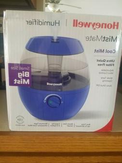 Honeywell Mistmate Ultrasonic Humidifier HUL520LV, Blue New