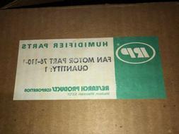 General Electric: 76-110-1, 5KSM59CS2496: Humidifier Fan Mot