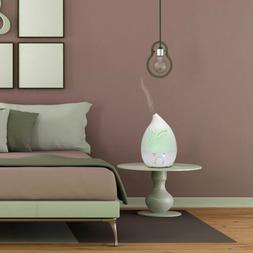 NEW 1.5L Supersonic Wave Drop Style Night Light Humidifier A
