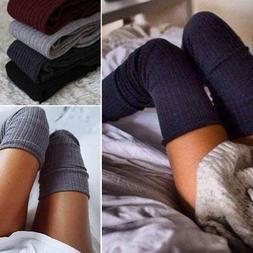 New Girls Ladies Women Thigh High Over the Knee Socks Long C