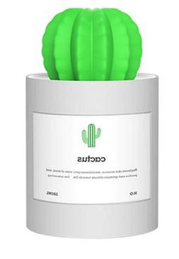 NEW USB Air Humidifier Cactus Shape Car Purifier Essential O
