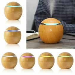 Office Essential Oil 7 Color Change Air Purifier USB Humidif
