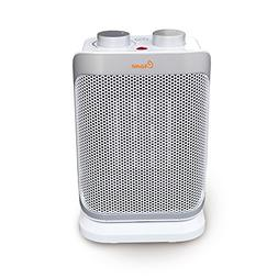 oscillating mini tower heater