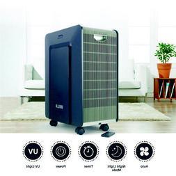 DELLA Portable Ionic Air Purifier LED Air Cleaner Pure Clean