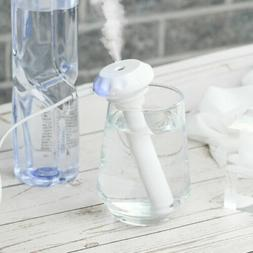 Portable USB Air Humidifier Diffuser Water Bottle Aroma Cap