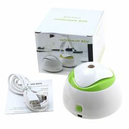 Portable Mini USB Air Purifier Humidifier for Office Home Ro