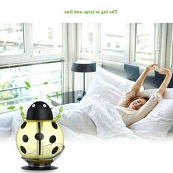 Portable Mini USB Donut Humidifier Air Purifier Aroma Diffus