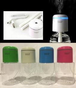 Portable Mini Water Bottle Caps Humidifier Air Diffuser Arom