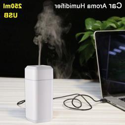 Portable USB Home Office Car Humidifier Aroma Diffuser Mist