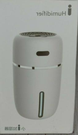 Novolido Portable Usb Humidifier With 7 Led Warm Lights, Min