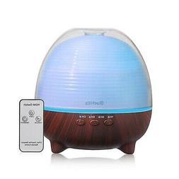 BlueHills Premium Essential Oil Diffuser with Remote Aromath