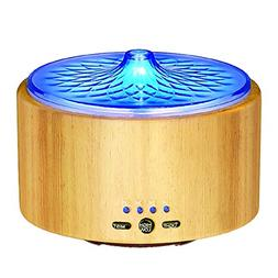 VicTsing Essential Oil Diffuser, 280ml Real Wood Cool Mist H