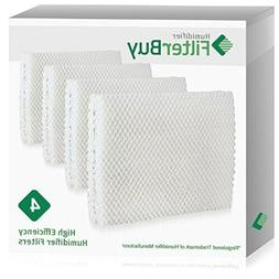 FilterBuy Replacement Humidifier Wick Filters Compatible wit