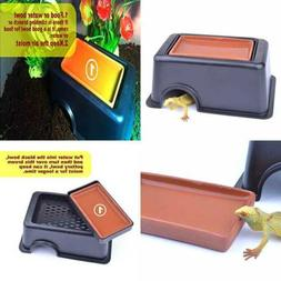 reptile hide cave box humidifier caves water