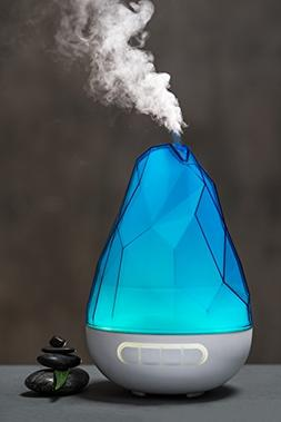 Rockano 200ml Cool Mist Ultrasonic Humidifier by Quooz with
