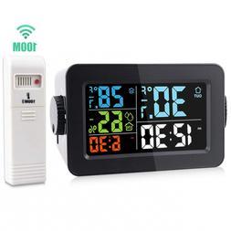 Scotte Wireless Digital Hygrometer Indoor Outdoor Thermomete