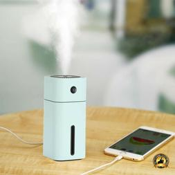 Small Humidifier Desk Bedroom Cool Mist Ultrasonic Room Air