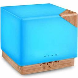 Square Aromatherapy Essential Oil Diffuser Humidifier, 700ml