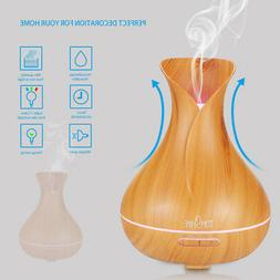 tomshine 400ml ultrasonic spa essential oil diffuser