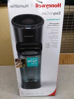 Honeywell Top Fill Tower Humidifier with Humidistat Black, H