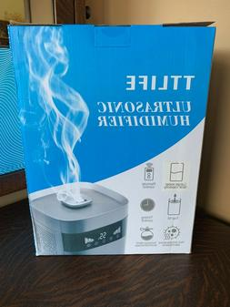 TTLIFE Top-Filling Warm & Cool Mist Humidifier, Large Capaci