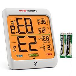 ThermoPro TP53 Hygrometer Humidity Gauge Indicator Digital I