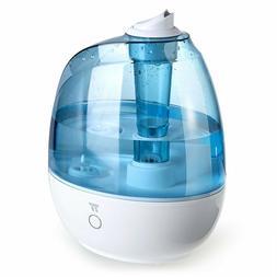 TaoTronics Tt-Ah009 Ultrasonic Cool Mist Humidifiers, 2L/0.5