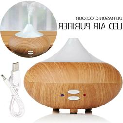 Ultrasonic 7 Color LED Essential Oil Aroma Humidifier Diffus